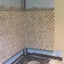 Réfection d'une douche italienne