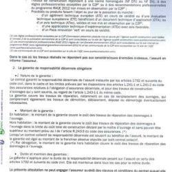 Attestation d'assurance décennale Ent LABBÉ page 2
