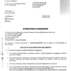 Attestation d'assurance décennale Ent LABBÉ page 10