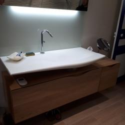 Agencement d'un meuble vasque
