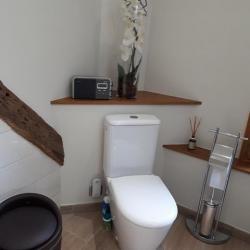 Pose d'un wc